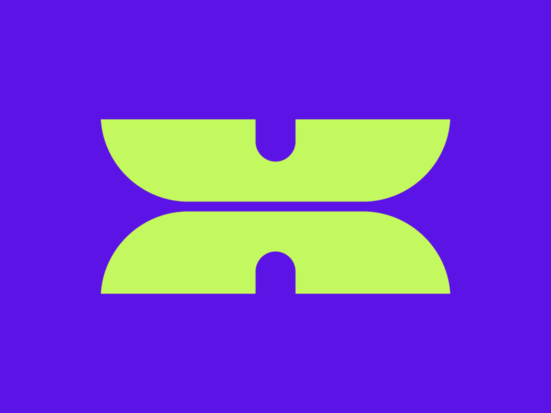 36 Days of Type || X typographic typography typeface minimal logomark abstract logo lettering letter illustration icon geometric font branding brand abstract 36 days of type 36daysoftype07 36daysoftype