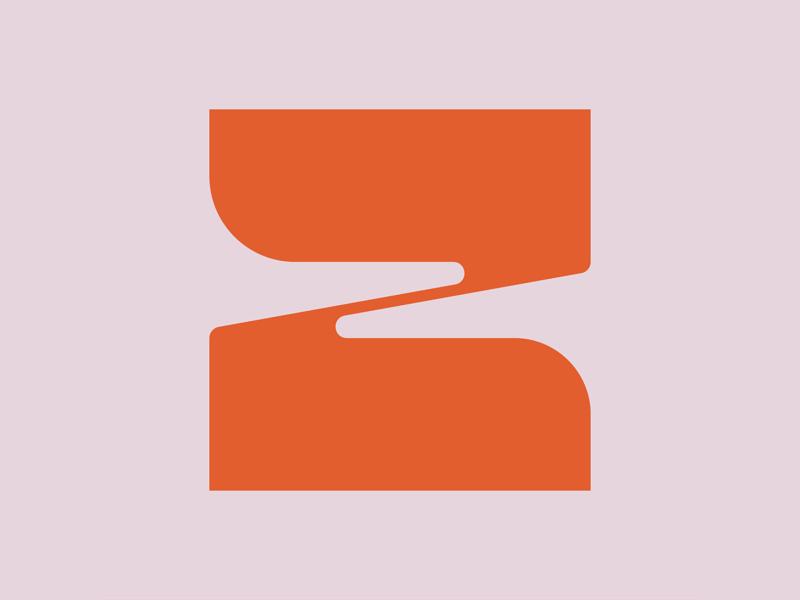 36 Days of Type || Z typographic typography typeface minimal logomark logo lettering letter illustration icon geometric font branding brand abstract 36 days of type 36daysoftype07 36daysoftype