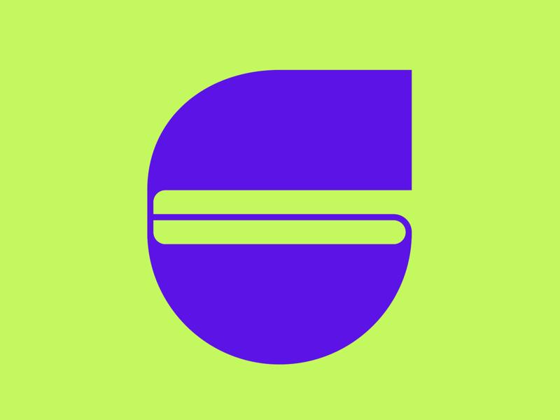 36 Days of Type || 6 typography typographic typeface type minimal logomark logo lettering letter illustration icon geometric font design branding brand abstract 36 days of type 36daysoftype07 36daysoftype