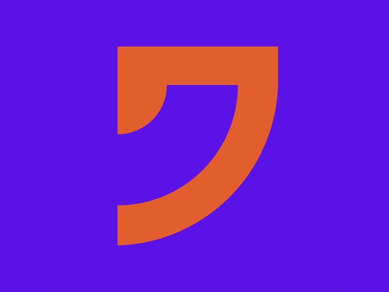 36 Days of Type || 7 typography typographic typeface type minimal logomark logo lettering letter illustration icon geometric font design branding brand abstract 36 days of type 36daysoftype07 36daysoftype