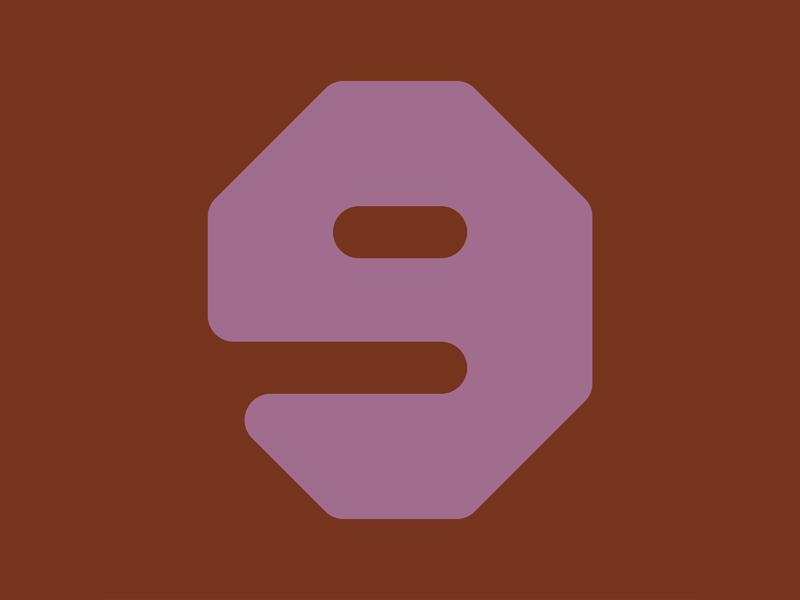 36 Days of Type || 9 typography typographic typeface type minimal logomark logo lettering letter illustration icon geometric font design branding brand abstract 36 days of type 36daysoftype07 36daysoftype