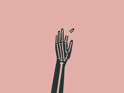 "#Inktober || Day 29 ""injured"" xray geometric scary spooky halloween skeleton bones crack snapchat break injury injured illustration procreate inktober2019 inktober minimal abstract x ray wacky"
