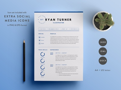 CV Template minimal cv resume cv cv resume template resume design resume clean resume free download cv template cv design cover letter clean