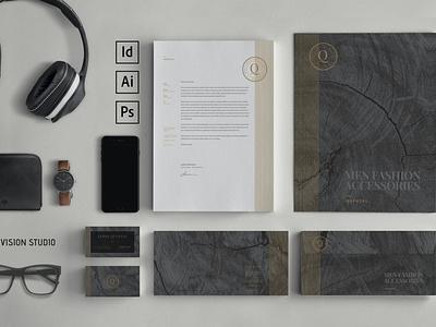 Stationery Identity kit mockup clean ui resume free cv template cv design cover letter clean highend