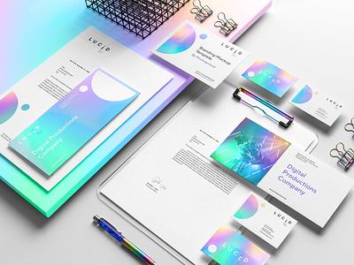 Lucid Branding Mockup Vol. 1 branding design businesscard mockup set free cv template cv design cover letter clean highend