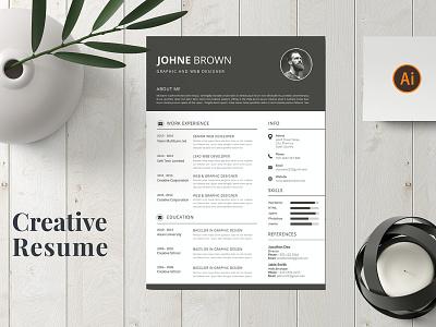Cv Resume resume clean cv design cover letter job cv job minimal modern cv letter clean simple resume resume template resume design resume professional modern resume free minimal resume cv template