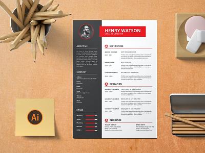CV Resume letter head cv design cover letter job cv job minimal modern cv letter clean simple resume resume template resume design resume professional modern resume free minimal resume cv template