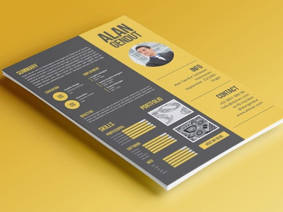 Modern Resume Template branding popular gradient resume gradient minimal clean simple resume job resume elegant resume modern resume minimal resume professional cover letter cv design cv template cv resume design resume template resume