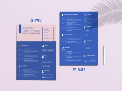 CV Template resume clean cv design cover letter job cv job minimal modern cv letter clean simple resume resume template resume design resume professional modern resume free minimal resume cv template