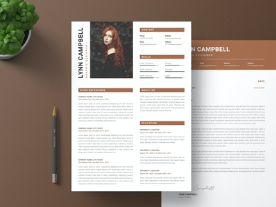 Resume Students & Letter Template resume clean cv design cover letter job cv job minimal modern cv letter clean simple resume resume template resume design resume professional modern resume free minimal resume cv template