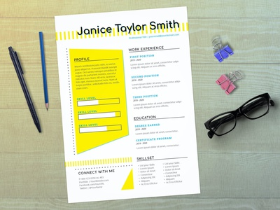 InDesign Resume Template resume clean cv design cover letter job cv job minimal modern cv letter clean simple resume resume template resume design resume professional modern resume free minimal resume cv template
