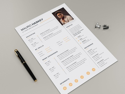 Resume CV resume clean cv design cover letter job cv job minimal modern cv letter clean simple resume resume template resume design resume professional modern resume free minimal resume cv template