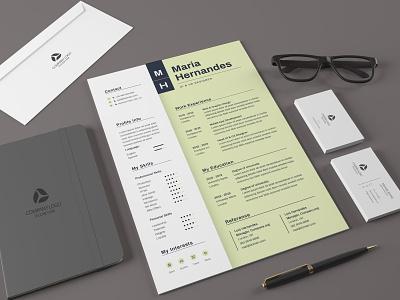CV Resume graphic design animation branding modern resume job cv professional resume clean free cv minimal logo illustration design resume template resume design cv design cover letter resume cv template clean