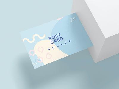Post Card Mockups logo illustration design resume template resume design cv design cover letter resume business card minimal mockup card business cv template clean