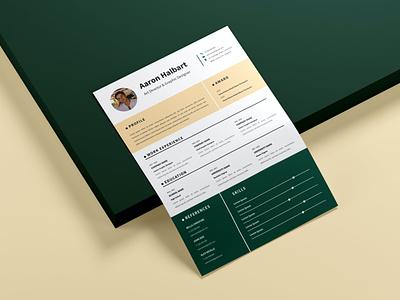 Resume branding motion graphics graphic design 3d animation logo illustration design resume template resume design cv design cover letter resume cv template clean