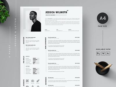 Resume Template illustration logo art template resume cv template resume cv cv resume trendy resume popular resume clean resume simple resume modern resume design resume template resume design cv design cover letter resume cv template clean