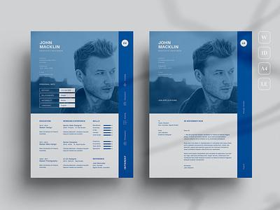 CV resume clean job minimal modern cv simple resume job cv professional modern resume free download minimal resume design resume template resume design cv design cover letter resume cv template clean