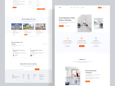 Real Estate Website Design property popular shot webflix web design popular dribbble best website clean website graphic uiux minimal clean agency branding webdesign web ux landingpage realestate website