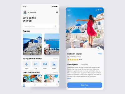 Travel App popular traveling clean app web uiux design agency mobile app app design 2021 travel app design tour app tour android uiux webflix application app ui travel app travel mobile app