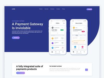 Payment Gateway Platform tariqul webflix 2021 landing page bank website account paying pay bank agency payment minimal web design uiux ux clean website website branding ui