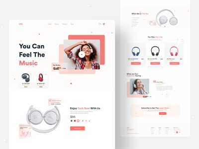 Product Web UI Exploration || 2021 dailyui creative topdesigner topdesign best designer best design minimal product website 2021trend dribbble best shot uidesign uiux homepage landingpage website concept website design web design webdesign website web