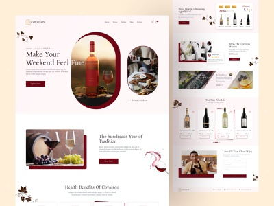Product Web UI Exploration || 2021 concept wine productdesign best top redesign minimal 2021trend homepage landingpage uiuxdesigner uiuxdesign ui design uidesign ui  ux uiux website design web design webdesign web