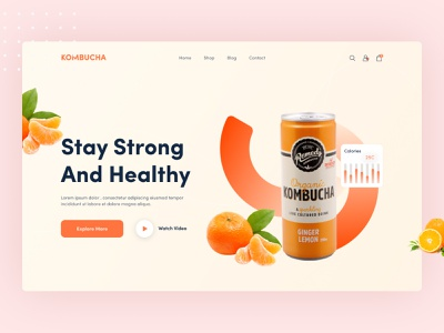 Product Web UI Exploration || 2021 concept juice best design product website top minimal popular dribbble best shot 2021 trend landingpage homepage uiuxdesigner ui design uiux design ui  ux uiux website design web design webdesign web