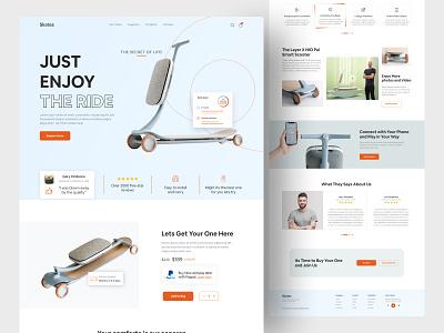 Product Web UI Exploration    2021 web interface ui buyer shop uiux product