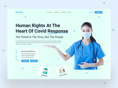 Covid-19 Web UI Exploration || 2021 doctor designconcept clean ui corona virus covid-19 hospital healthcare health header medical dribbble best shot minimal uidesigner ui design uiuxdesign uiux website design webdesign web design web