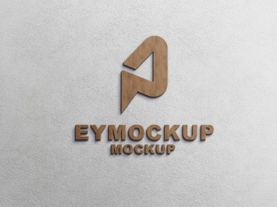 Wooden Premium Logo Mockup icon web ux ui vector logo business branding design mockup