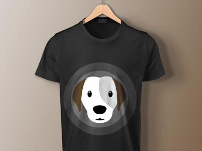 Puppy T-Shirt Art Mockup typography ux illustration ui logo vector business branding design