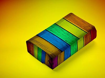 Colourful Packet Mockup illustration business branding design mockup packet colourful