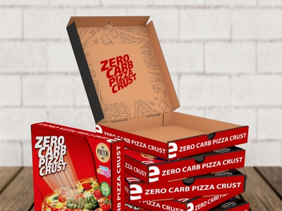 Delicious Pizza Box Packaging Mockup psd business branding design mockup packaging box pizza delicious