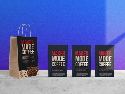 New Coffee Packaging Mockup psd business branding design mockup packaging coffee new