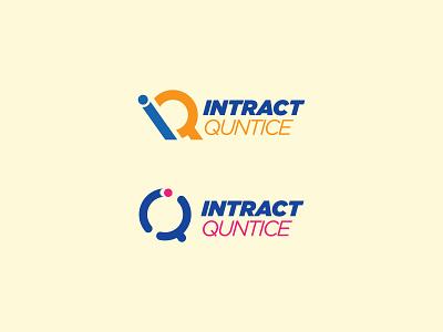 Intract Quntice logo design 1 2 3 4 5 6 7 8 9 logo mark logo trand logo trand 2021 best logo folio minimal logo software logo design logo designer logo flat branding brand identity logo mark logo creation logo design