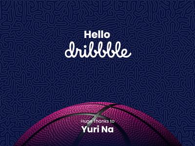 Hello Dribble | Thank You Card
