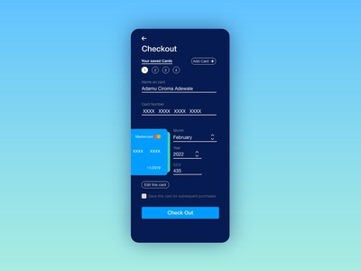 Checkout page - Daily UI - Day 02