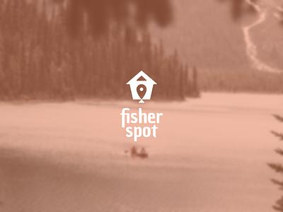 Fisher Spot branding logo design logo