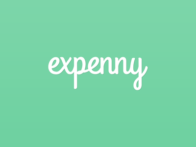 Expenny Logo (WIP) logo design logo personal project side project iphone app app