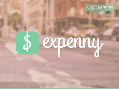 Expenny (New Website) nelo matias canobra expenny app web design custom web design wip personal project iphone app