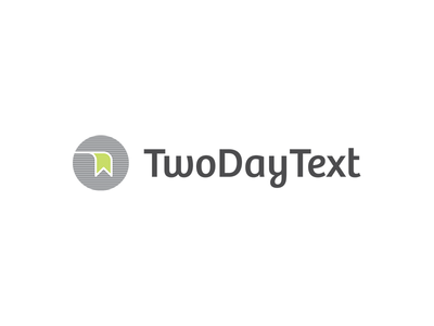 TwoDayText Logo & Stationary