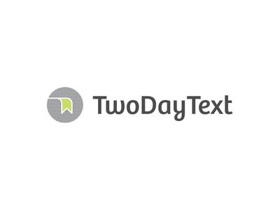 TwoDayText Logo & Stationary nelo matias canobra branding design branding stationary logo design logo