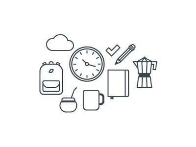 Icons design for a client nelo matias canobra icon design icon