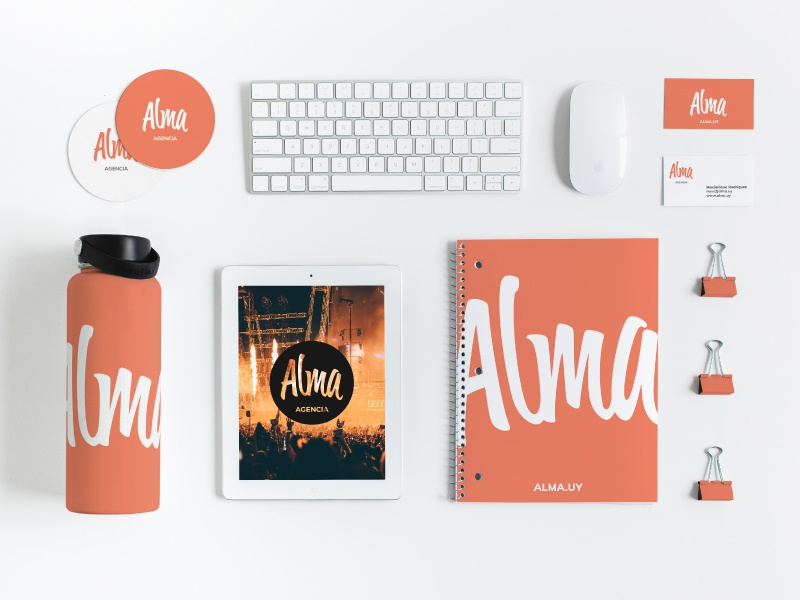 Alma - Logo design by Nelo | Dribbble | Dribbble