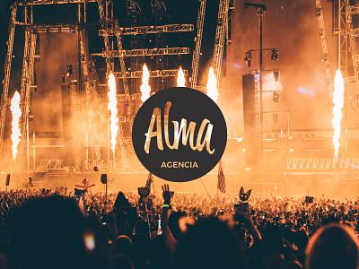 Alma - Logo design typography nelo logo design logo