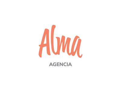 Alma - Logo design branding design typography matias canobra nelo logo design logo