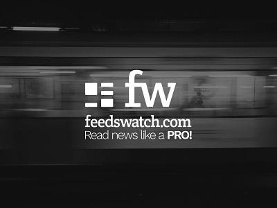 FeedsWatch logo design branding design typography icon logo design logo