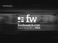 FeedsWatch logo design
