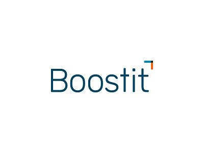 Boostit branding design logo design logo