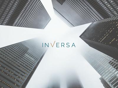 Inversa Logo branding design nelo logo design logo